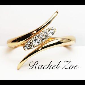 RACHEL ZOE Crystal Embellished Bangle Bracelet